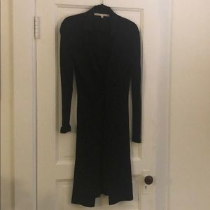 Max Studio Black Long Cardigan